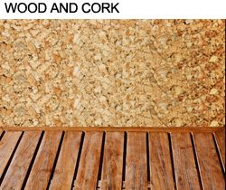 Wood and Cork